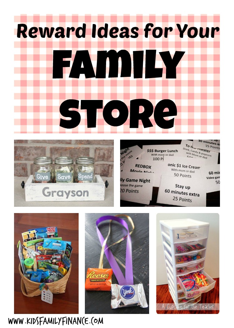 Reward Ideas for Your Family Store